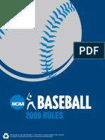 Baseball Rules NCAA