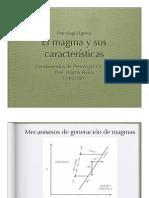 El Magma y Sus Caracteristicas