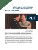 Entrevista a Guaicaipuro Lameda