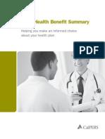2013 Health Benefit Summary