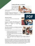 Organizacion de La Familia Leyes Protectoas Parentesco Union de Hecho