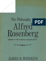 Whisker James B. - The Philosophy of Alfred Rosenberg