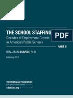 The School Staffing Surge
