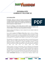 Informacion General Albergue Villuercas