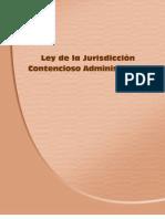 Ley Jurisdiccion Contencioso Administrativa