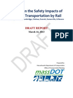 Report on the Safety Impacts of Ethanol Transportation by Rail through Boston, Cambridge, Chelsea, Everett, Somerville, & Revere