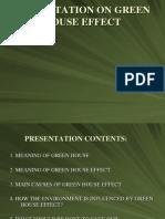 Green House Effect Presentation
