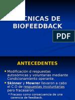 TÉCNICAS DE BIOFEEDBACK