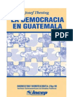 Democracia Guatemala