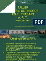 Nuevo Taller de Analisis de Riesgo en el trabajo 2011.ppt