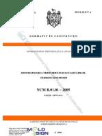 NCM_B.01.01-05 Sistematizarea teritoriului şi a localităţilor. Termeni şi definiţii