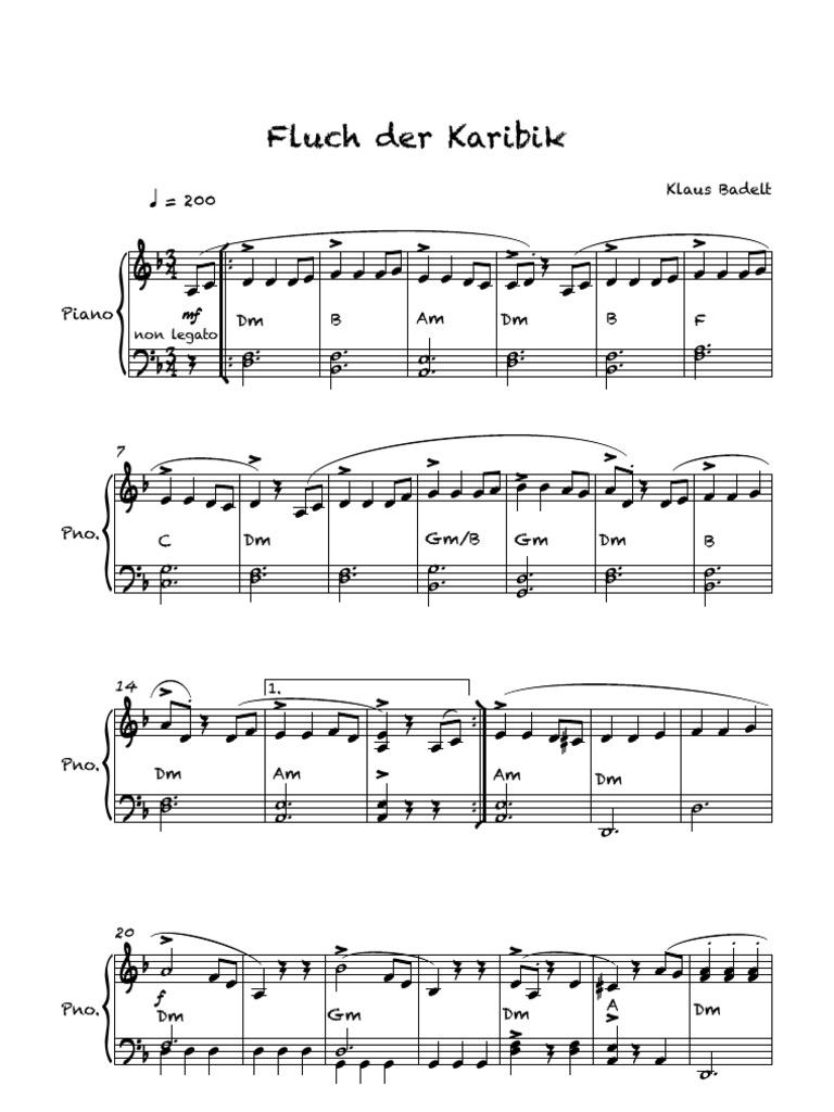 Fluch Der Karibik Lied