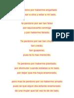 Te Perdono (Poesia)