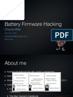 BH US 11 Miller Battery Firmware Public Slides