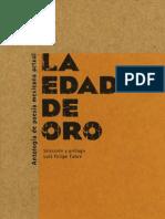 Luis Felipe Fabre, ed. La edad de oro. Antología de poesía mexicana actual.