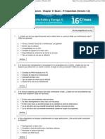 Visualizador del examen - Chapter 11 Exam - IT Essentials (Versión 4.0)