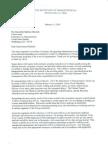DOT Letter-February Sequester Hearing