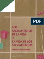 BOFF LEONARDO Los Sacramentos de La Vida