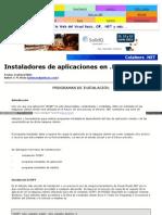 Instaladores de Aplicaciones en .NET