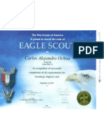 eagle scout certificate