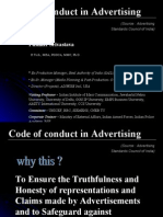 Code of Conduct in Advertising