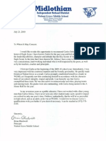 letter of reconmendation- brian blackwell