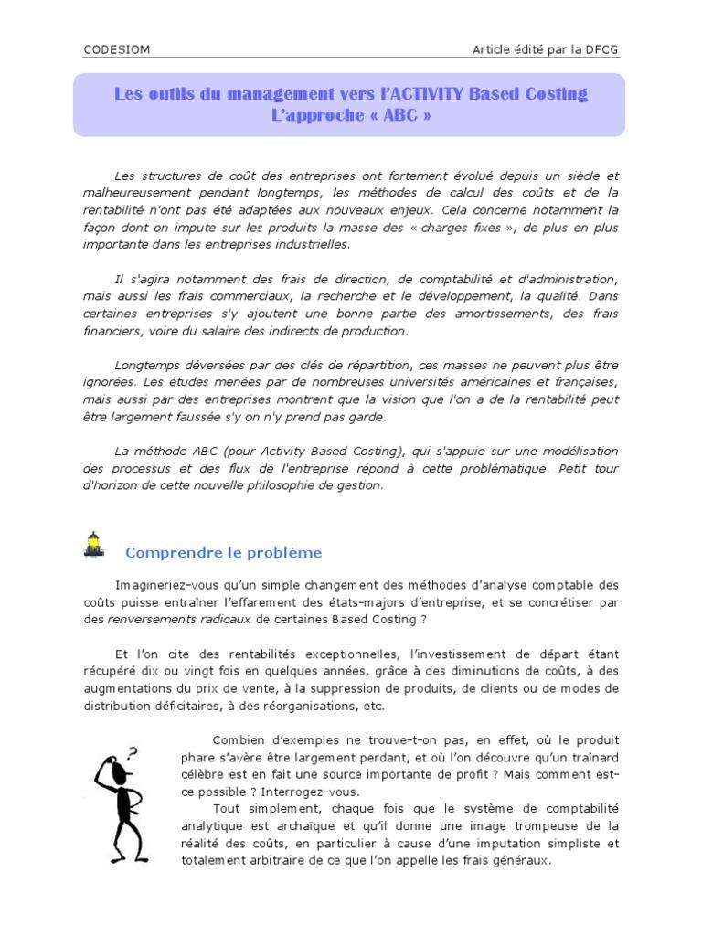 Article Methode Abc