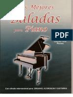 Las Mejores Baladas Para Piano