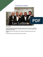 Frases de Les Luthiers
