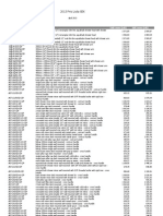 VADO Price List April 2013