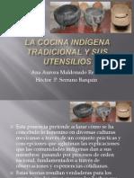 La cocina Indígena tradicional y sus utencilios