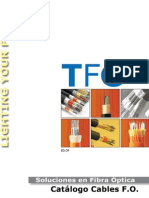 TFO Catalogo Cables
