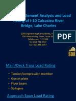 S58_3-D Finite Element Analysis and Load Rating of I-10 Calcasieu River Bridge, Lake Charles_LTC2013