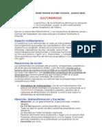 resumen SULFONAMIDAS