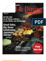 San Mateo Burlingame Food & Dining Guide