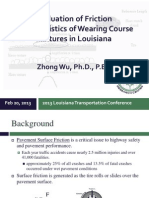 S64_Evaluation of Friction Characteristics of Wearing Course Mixtures in Louisiana_LTC2013