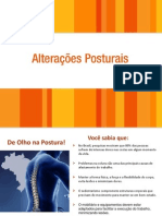 alterações posturais