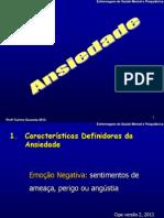 Ansiedade 2012