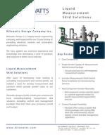 Liquid Measurement Skid Solutions 0208