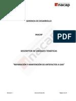 1237847578 Reparación y Mantención de Artefactos a Gas Descriptor