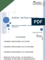 Analisis Flujo Vehicular