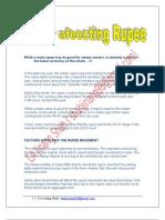 Factor Affecting Rupee