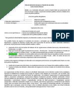 Suministro de Servicios Sociales a Travez de OPNE - Carlos Antonio Morales