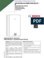 Bosch GWH 2400ES NG LP Indoor
