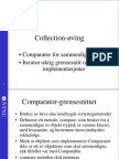 Collection øving