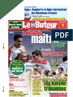 LE BUTEUR PDF du 11/03/2009