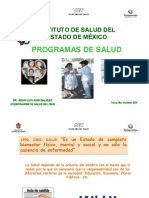Programas Servicios de Salud Del Isem 2