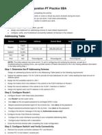 ENetwork Basic Configuration PT Practice SBA.docx