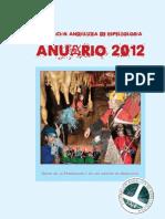 Anuario FAE 2012