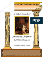 Antony and Cleopatra Play by William Shakespeare by Donnette Davis, St Aiden's Homeschool